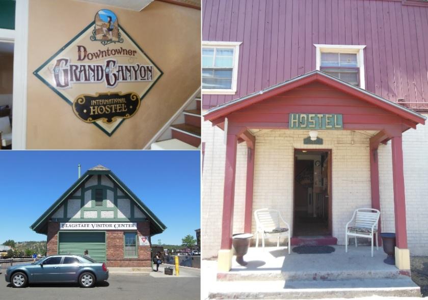 Flagstaff é muito bonitinha. E gostei do hostel, apesar de que foi um pouco difícil de achar.