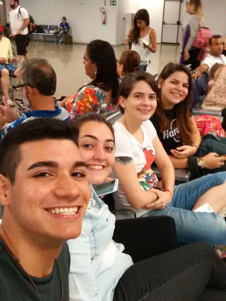 Ed, Salete, Eu, Lara