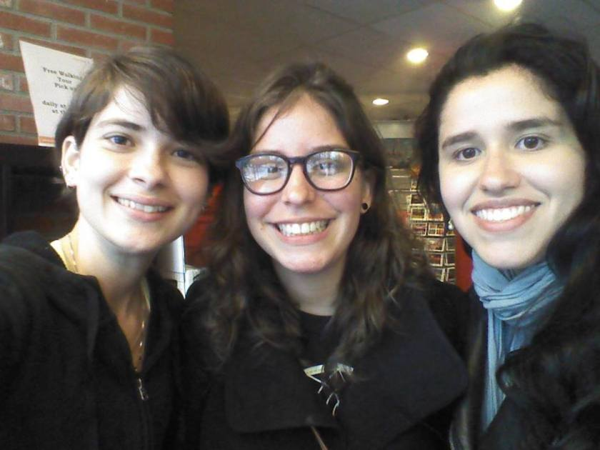 Eu, Stephanie e Lara