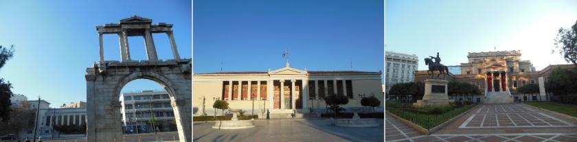 Arco de Hadrian, University of Athens, National History Museum